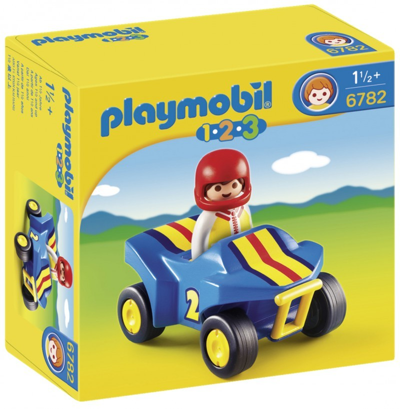 playmobil 6782 - 1.2.3 Quad