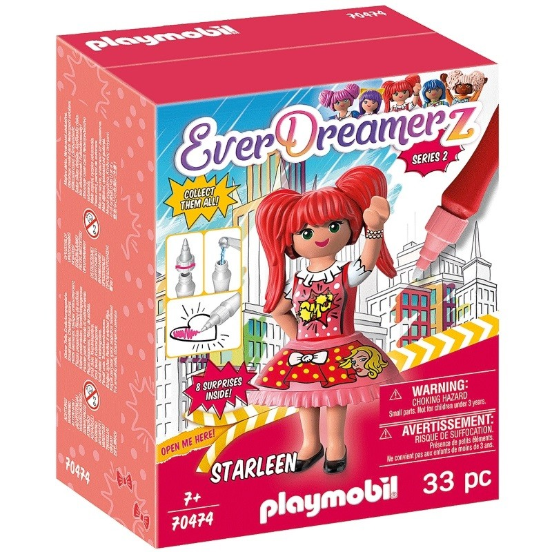 playmobil 70474 - Comic World Starleen Serie 2