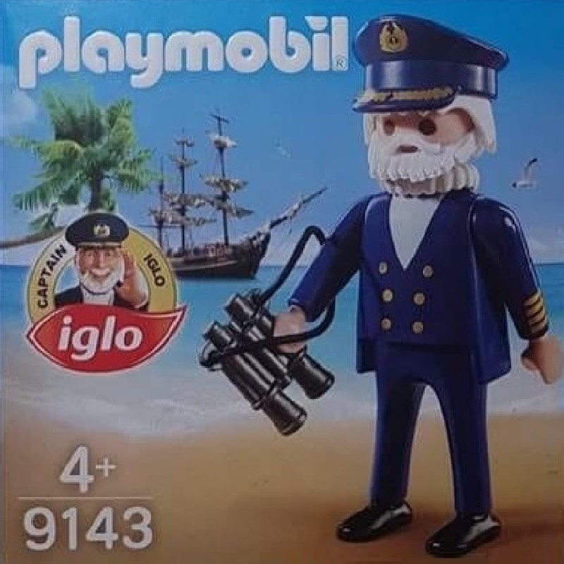 playmobil 9143 - Capitan Iglo