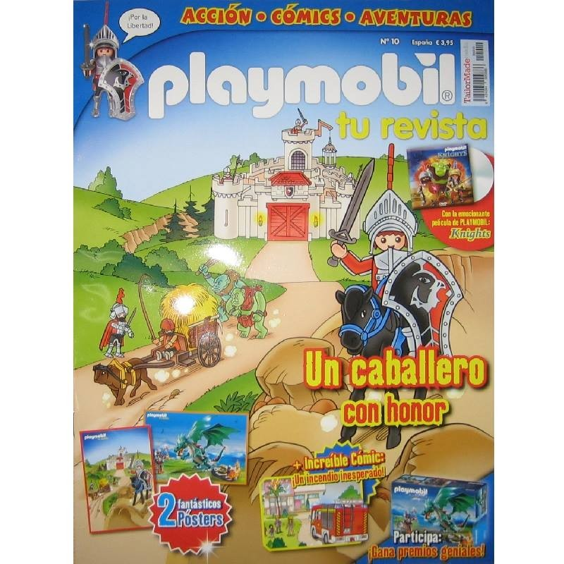 playmobil n 10 chico - Revista Playmobil 10 bimensual chicos