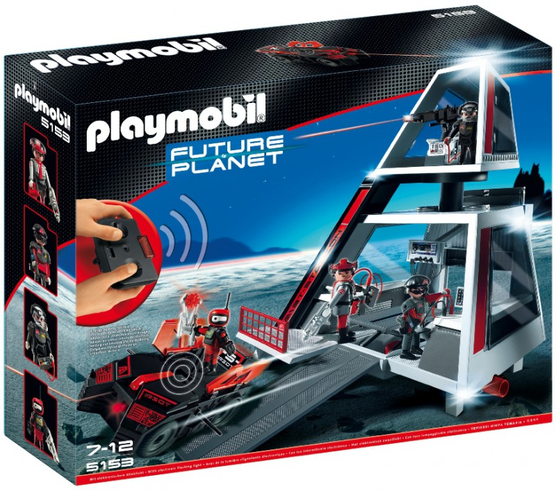 playmobil 5153 - Darksters cuartel general