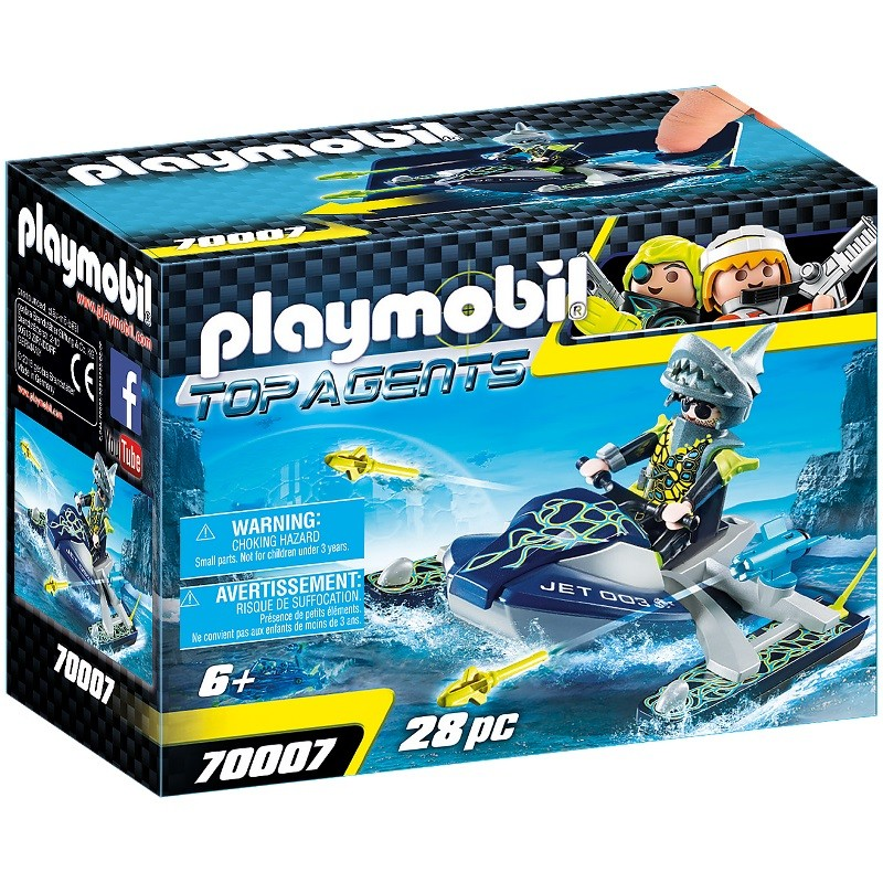 playmobil 70007 - Nave Cohete TEAM S.H.A.R.K.