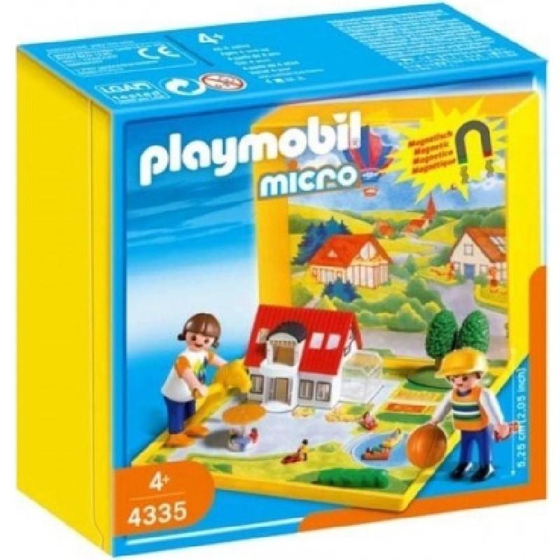 Playmobil 4335 micro casa moderna for Casa moderna playmobil 6784