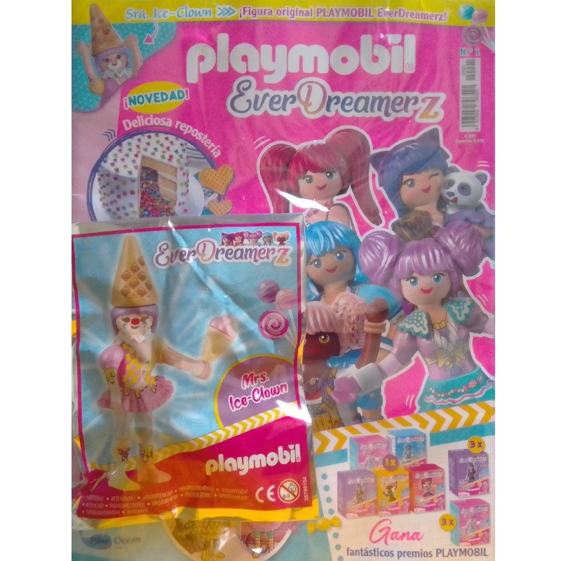 playmobil Ever 1 - Revista Playmobil Everdreamerz n 1