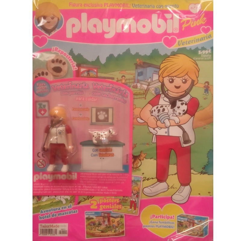 playmobil n 15 chica - Revista Playmobil 15 Pink chicas