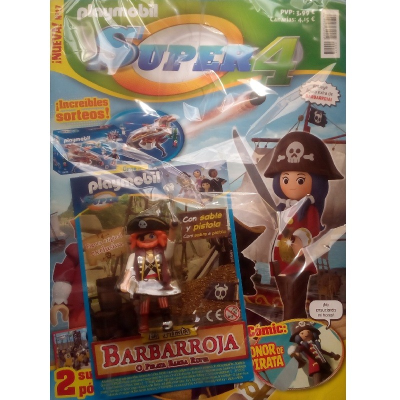 playmobil n17 super4 - Revista Playmobil Super 4 numero 17
