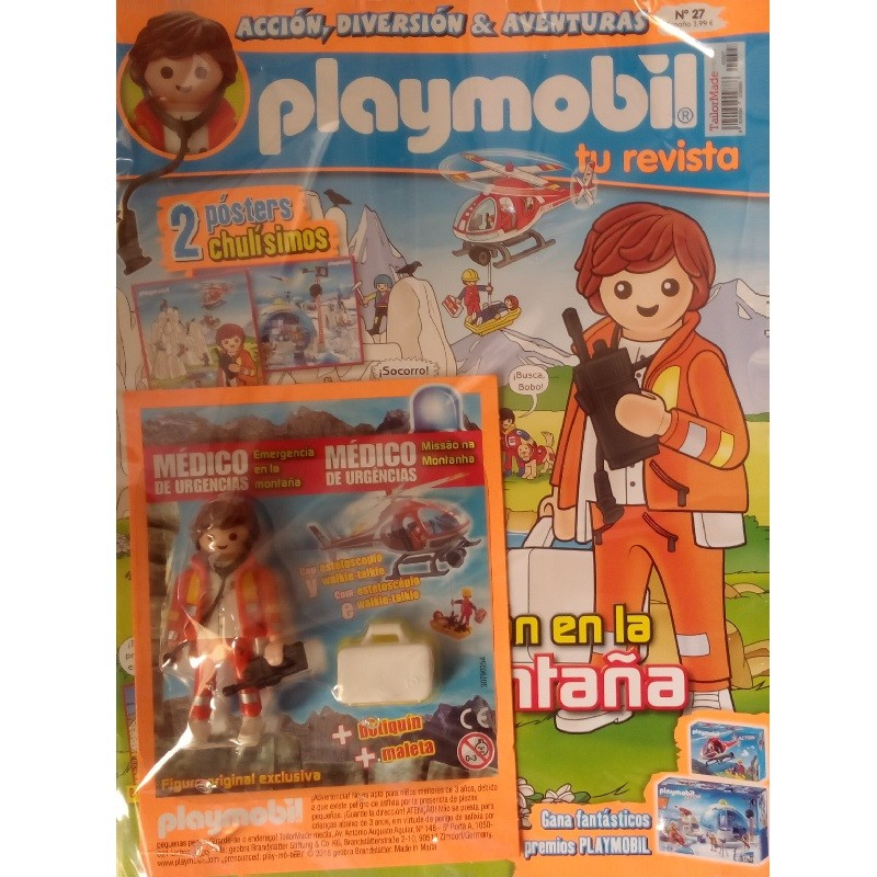 playmobil n 27 chico - Revista Playmobil 27 bimensual chicos