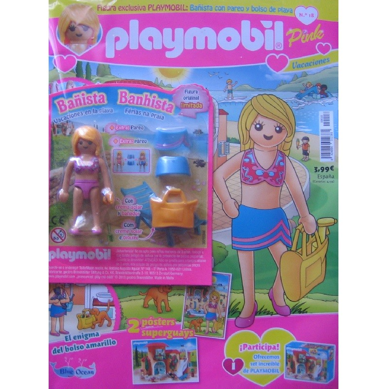 playmobil n 18 chica - Revista Playmobil 18 Pink