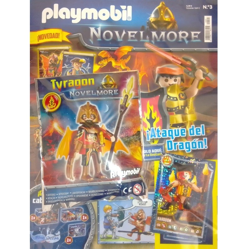 playmobil Novel 3 - Revista Playmobil Novelmore n 3