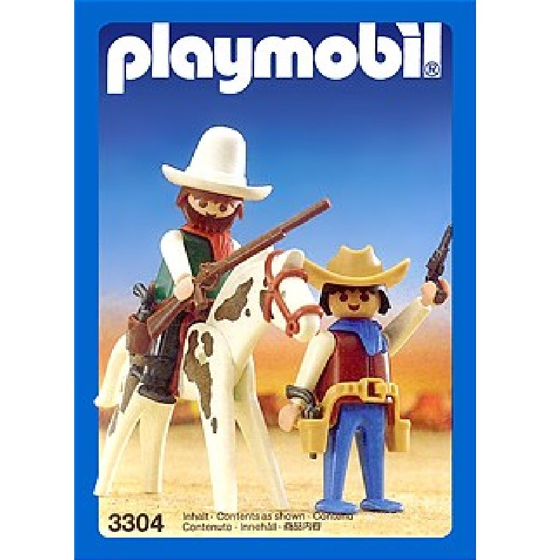 playmobil 3304 - Cowboys western