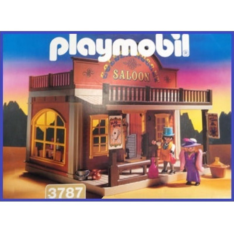 playmobil 3787 - Salón Golden Nugget