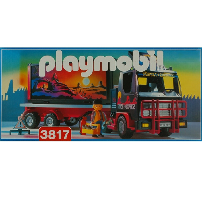 playmobil 3817 - Camion Americano Sunset Express