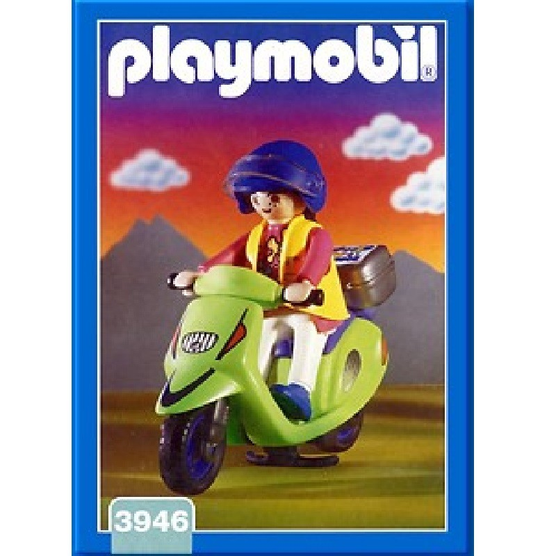 playmobil 3946 - Chica con Scooter