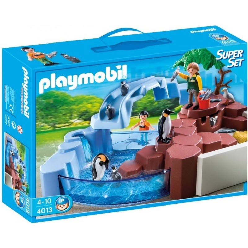playmobil 4013 - SuperSet Piscina de Pinguinos