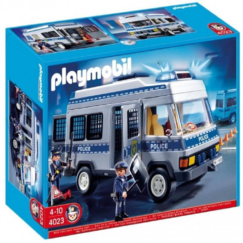 playmobil 4023 furg n de polic a