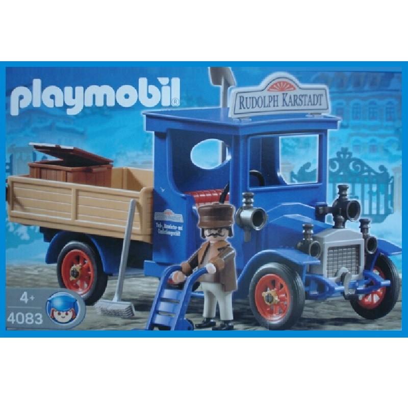 Playmobil  Victorianos.Rudolph Karstadt y caballero gris y azul