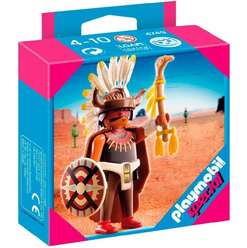 playmobil 4749 - Indio brujo