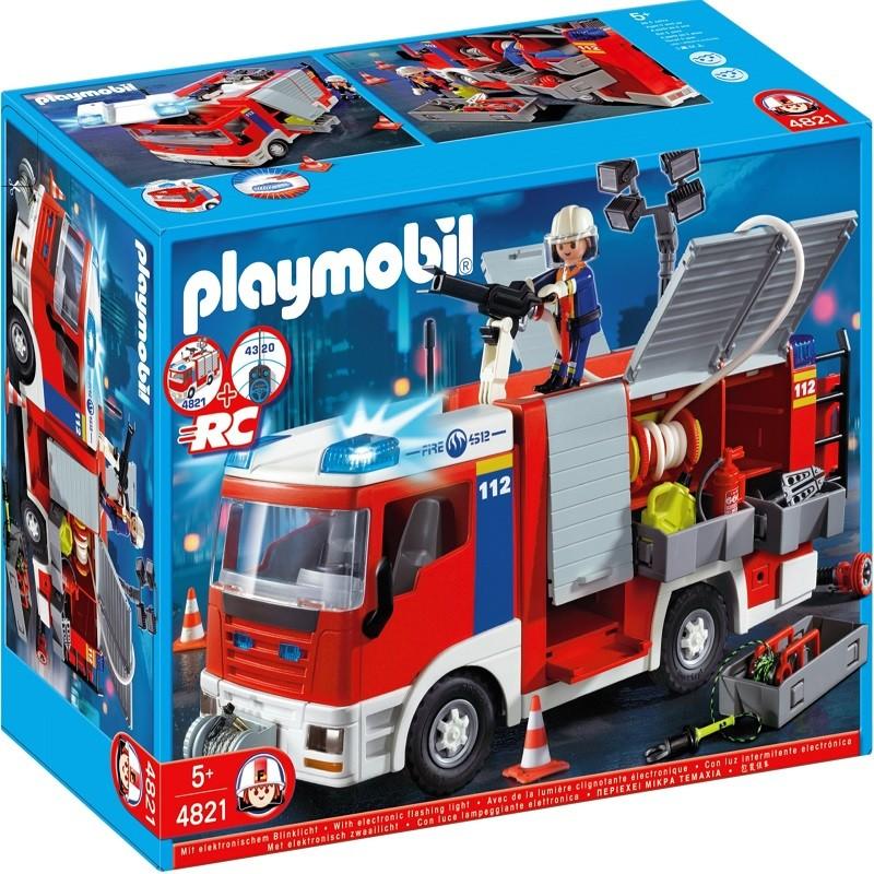 playmobil 4821 cami n de bomberos