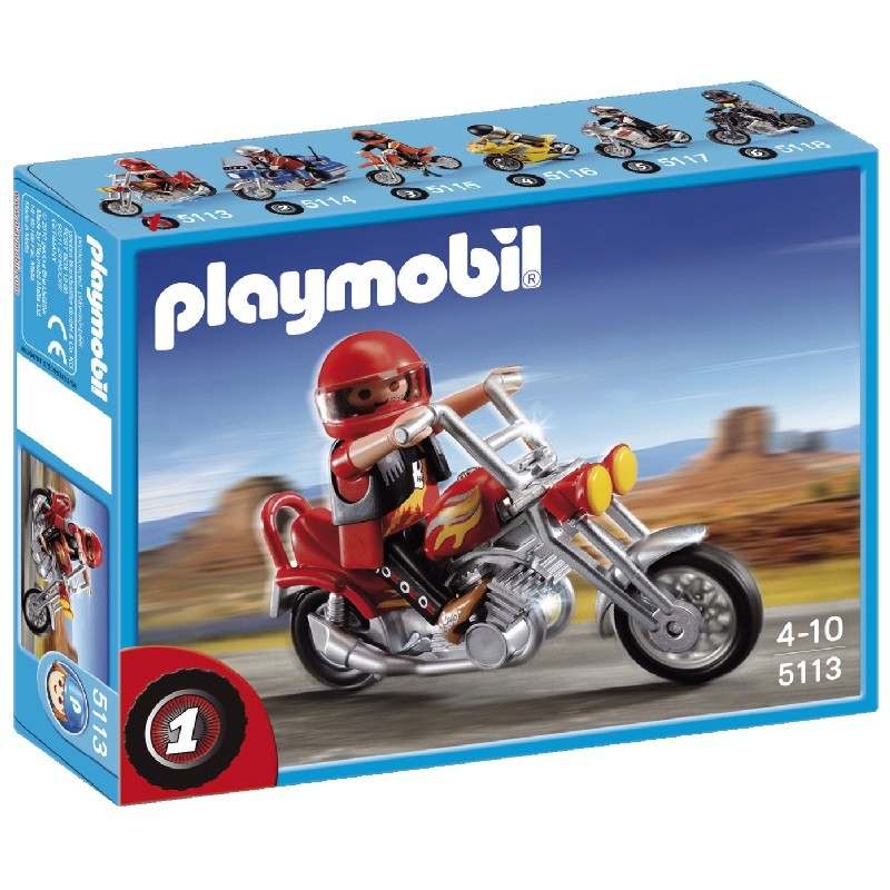 playmobil 5113 - Moto Chopper