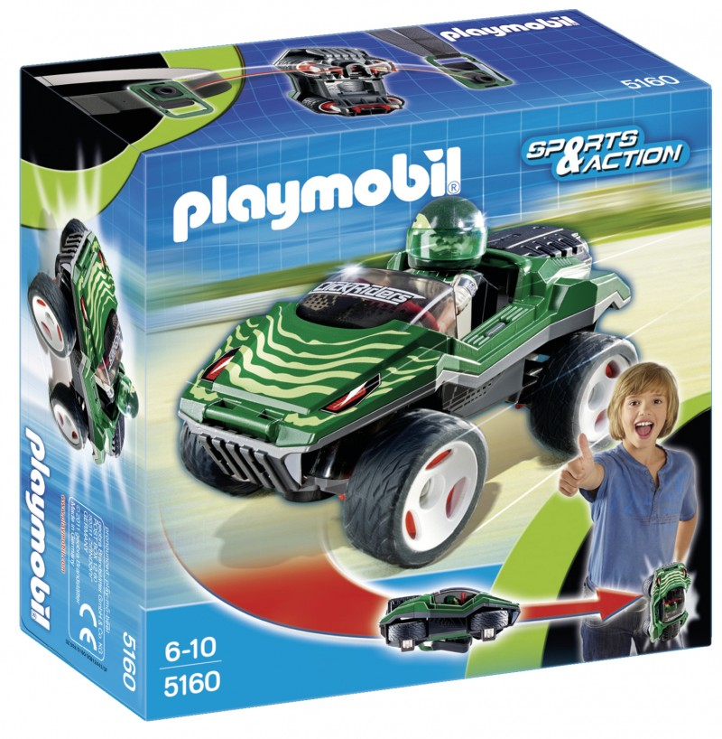 playmobil 5160 - Click and Go snake racer