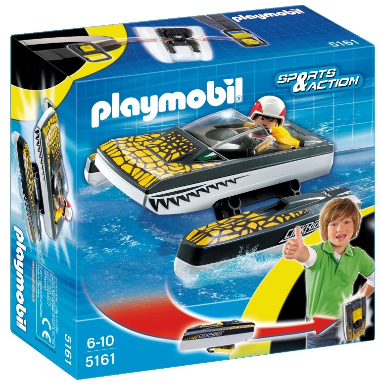 playmobil 5161 - Click and Go  speedboat