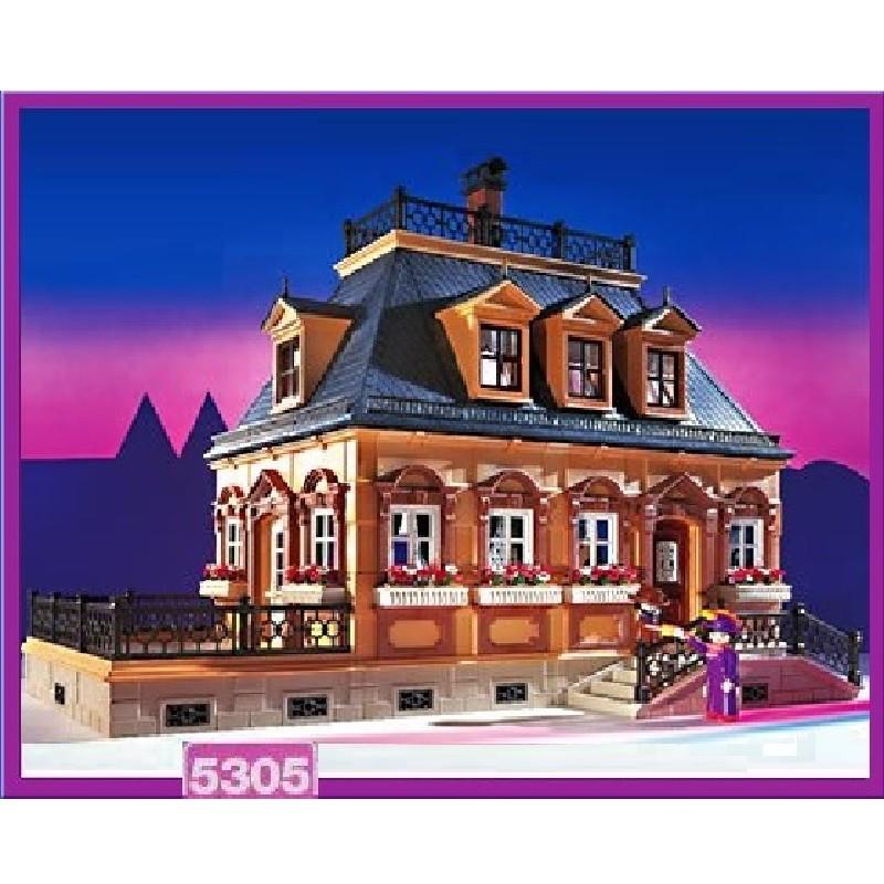 Playmobil 5305 mansion victoriana peque a v 2 for Mansion de playmobil
