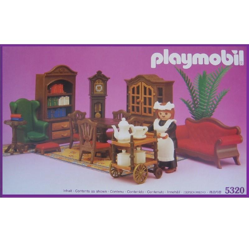 Playmobil 5320 salon comedor victoriano for Salon playmobil