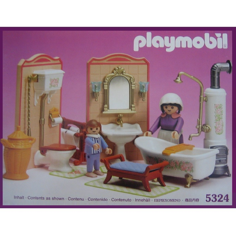 playmobil 5324 v1 - Baño Mansion Victoriana v1