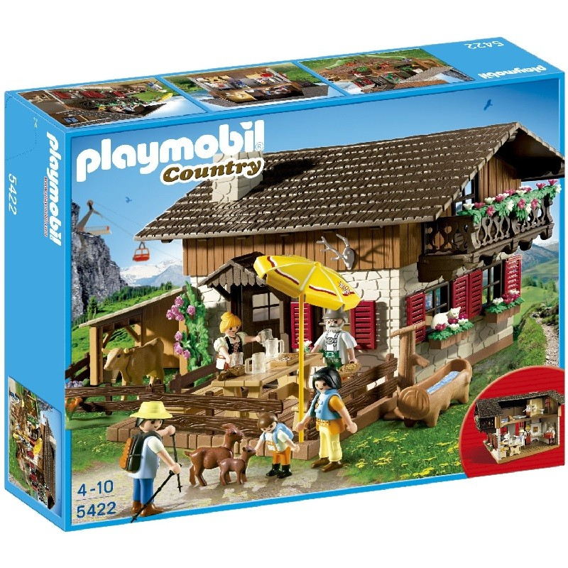 playmobil 5422 - Casa de los Alpes
