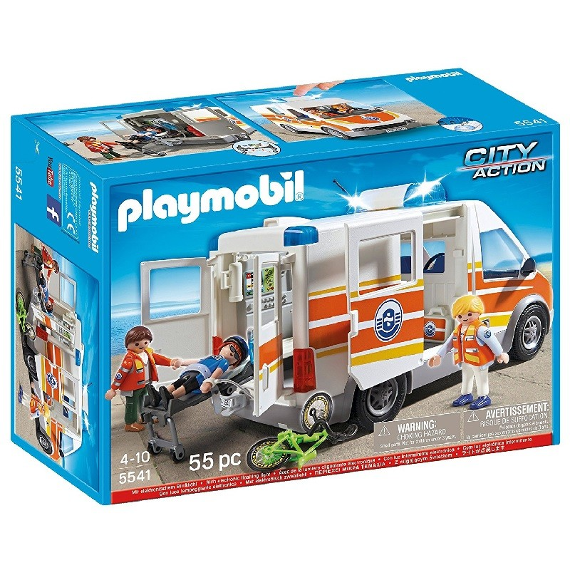 playmobil 5541 - Ambulancia con luces y sonido