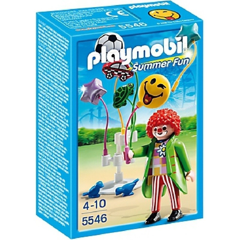 playmobil 5546 - Vendedor de globos Smileyworld