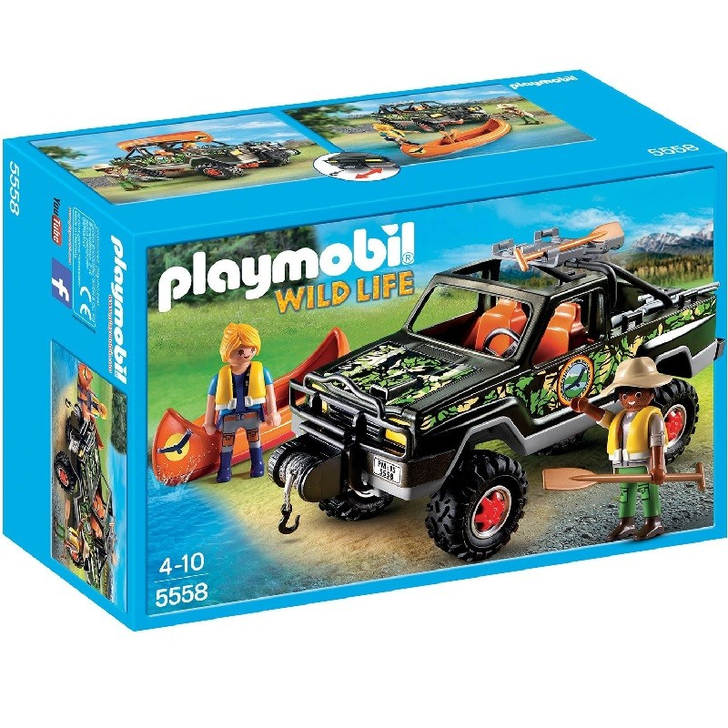 playmobil 5558 - Pick up de Aventura