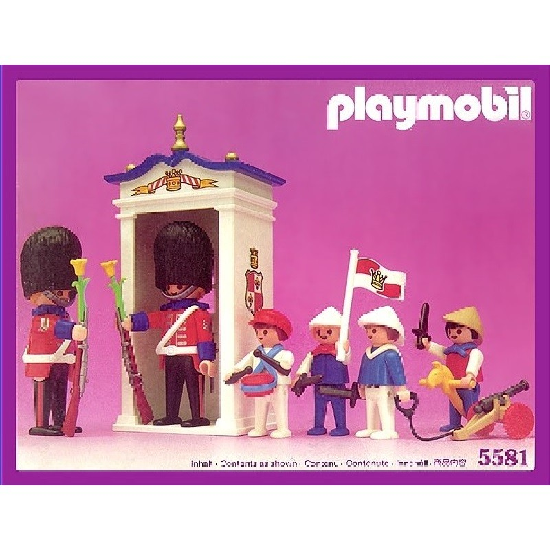 playmobil 5581 - Cambio de Guardia