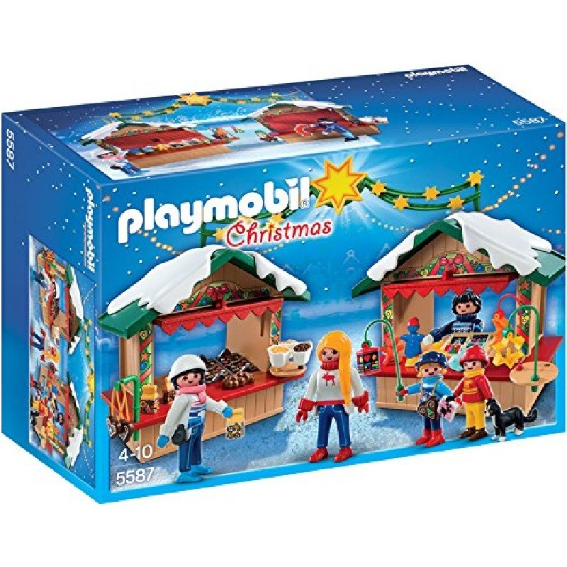 playmobil 5587 - Mercadillo Navideño 2014 Exclusivo Vedes