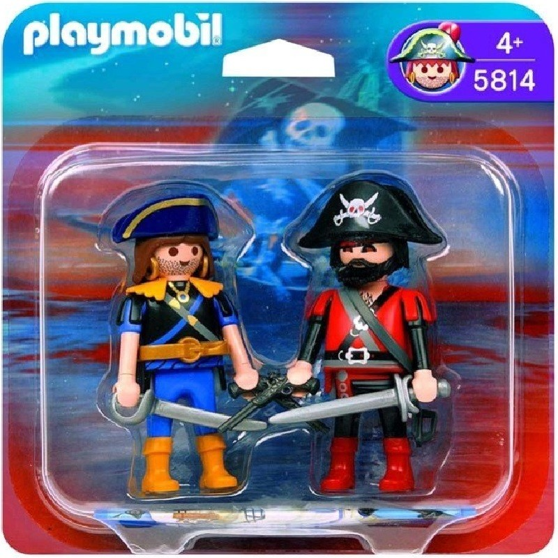 playmobil 5814 - Duo pack piratas 2008
