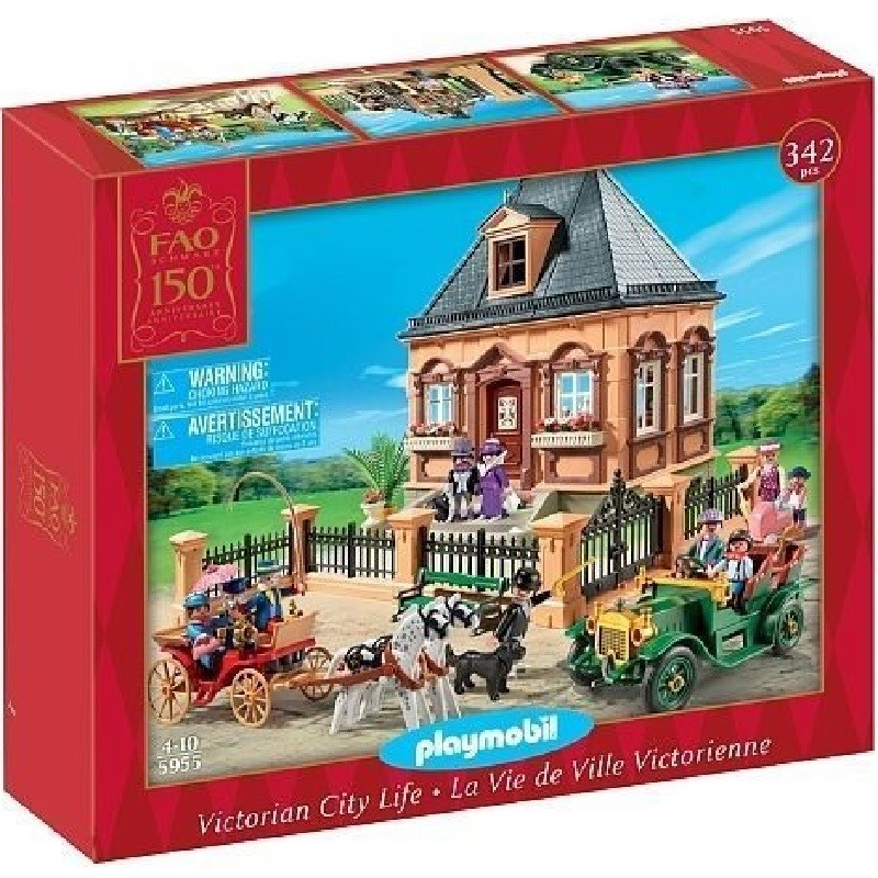 playmobil 5955 - Mansion casa Victoriana FAO