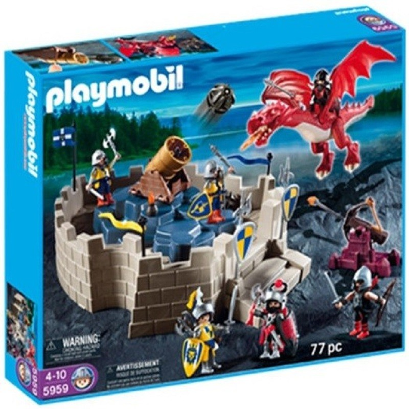 Playmobil 5959 set caballeros del drag n for Playmobil caballeros