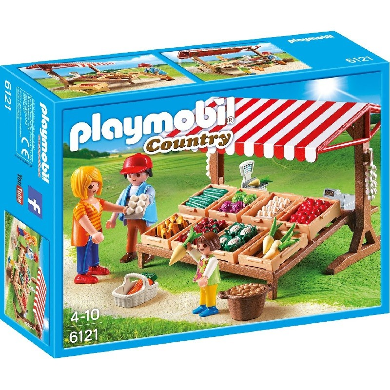 playmobil 6121 - Mercado
