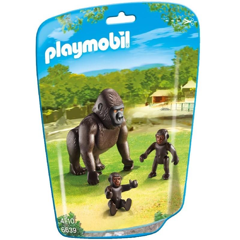 Playmobil 6639 gorila con beb s for Casa del arbol playmobil carrefour