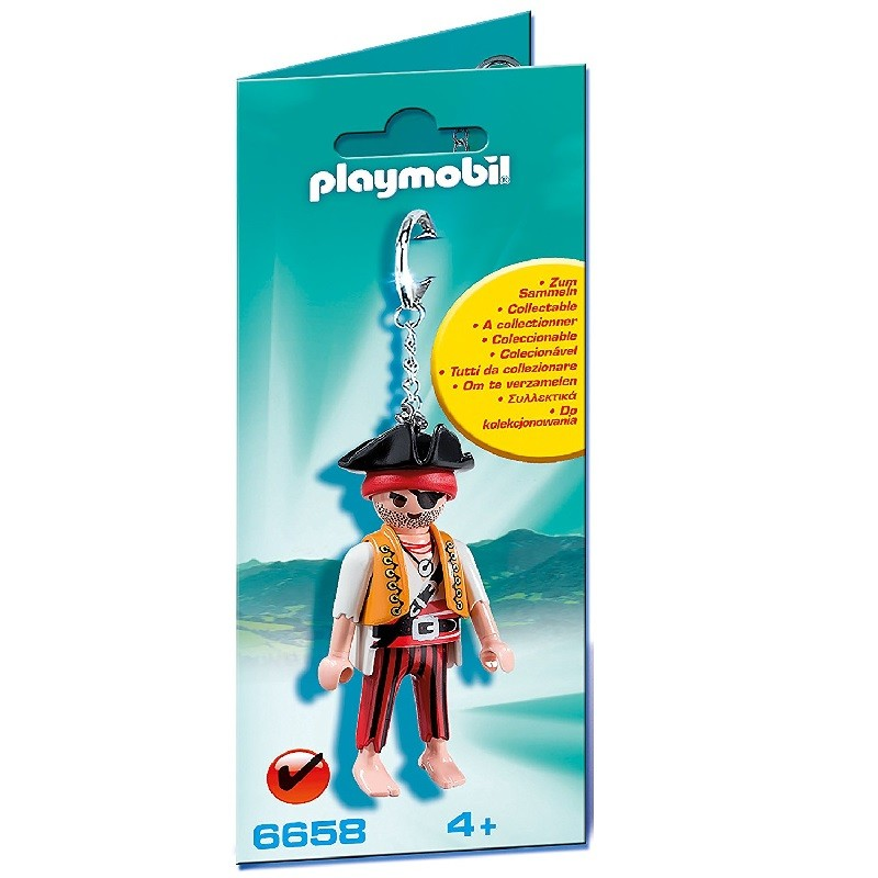 playmobil 6658 - Llavero Pirata