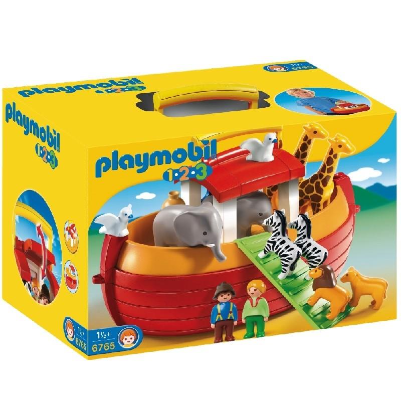 Playmobil 6765 1 2 3 Arca De Noe Maletin