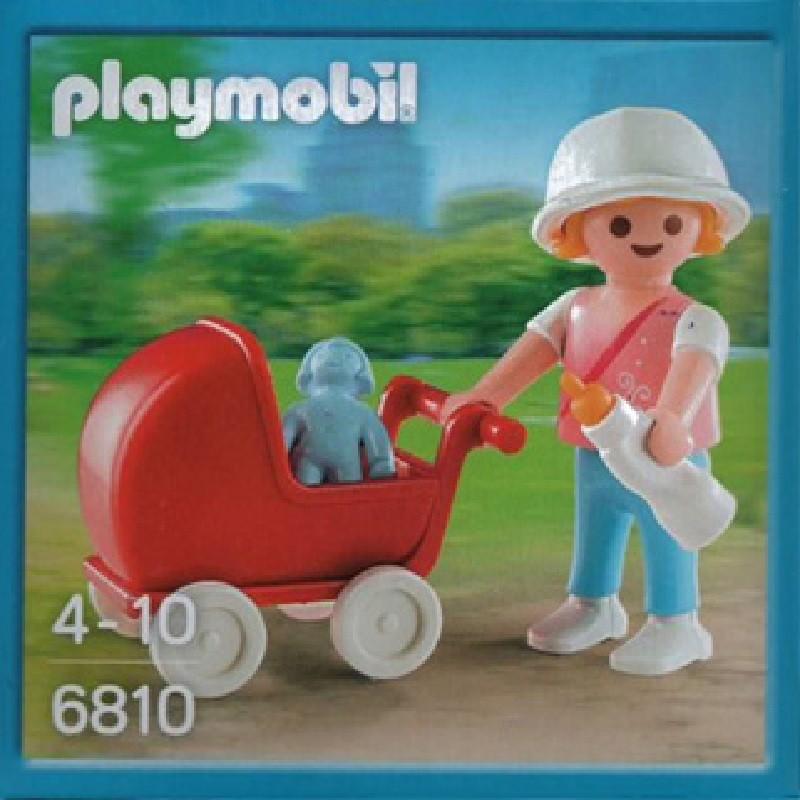 playmobil 6810 ni a con cochecito mu eca y biber n