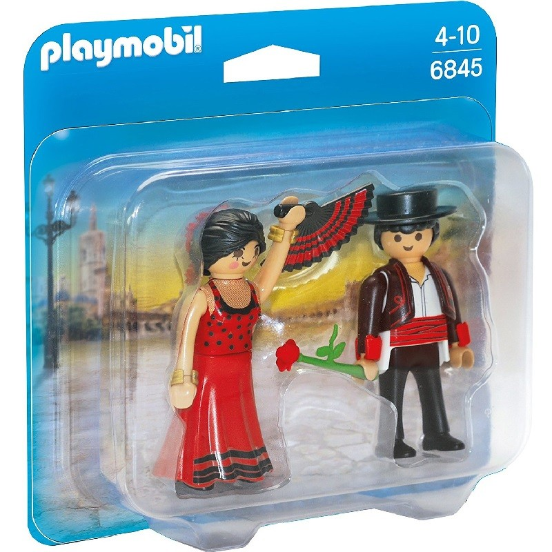 playmobil 6845 - Duo Pack Bailarines Flamencos
