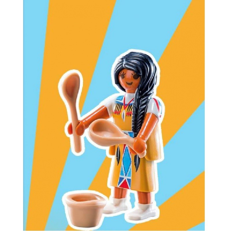 playmobil 9242 4 - Sobre Sorpresa Serie 12 Chicas India