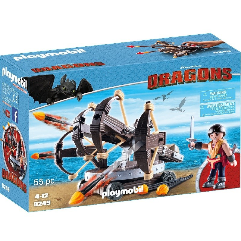 playmobil 9249 - Eret con Ballesta de 4 disparos