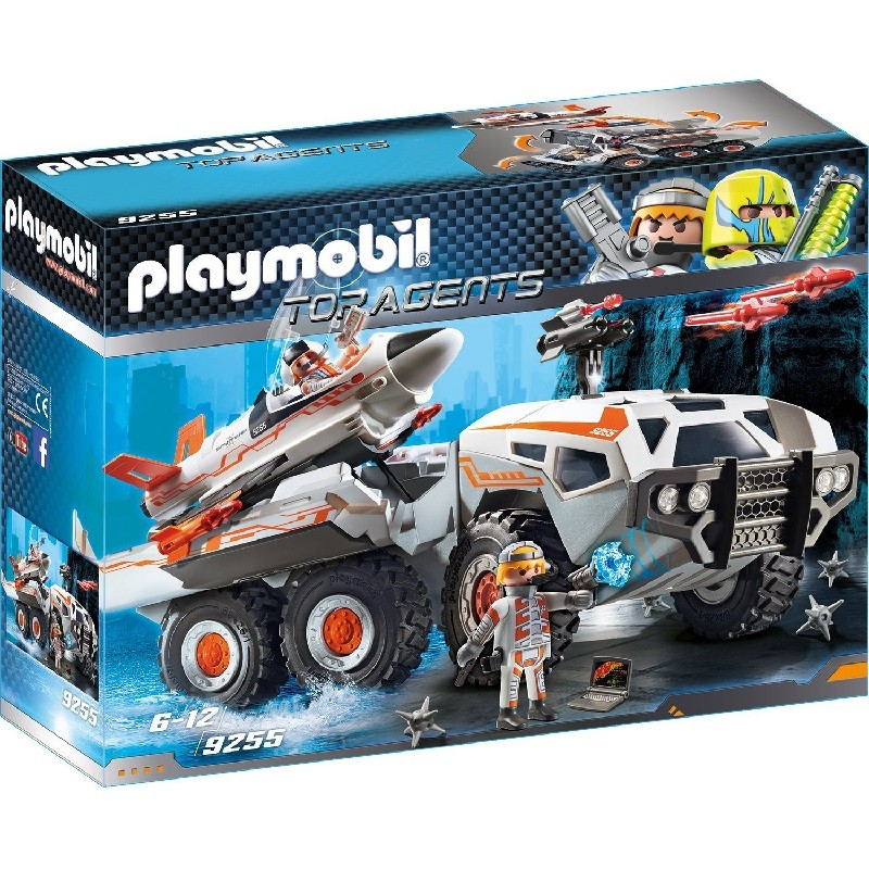 playmobil 9255 - Camión Spy Team