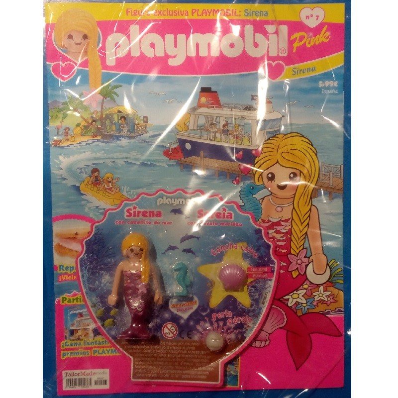 playmobil n 7 chicas - Revista Playmobil 7 semestral chicas