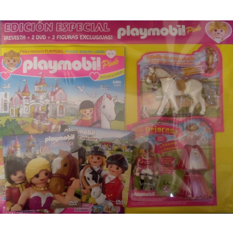 playmobil n 10 chica - Revista Playmobil 10 Pink chicas