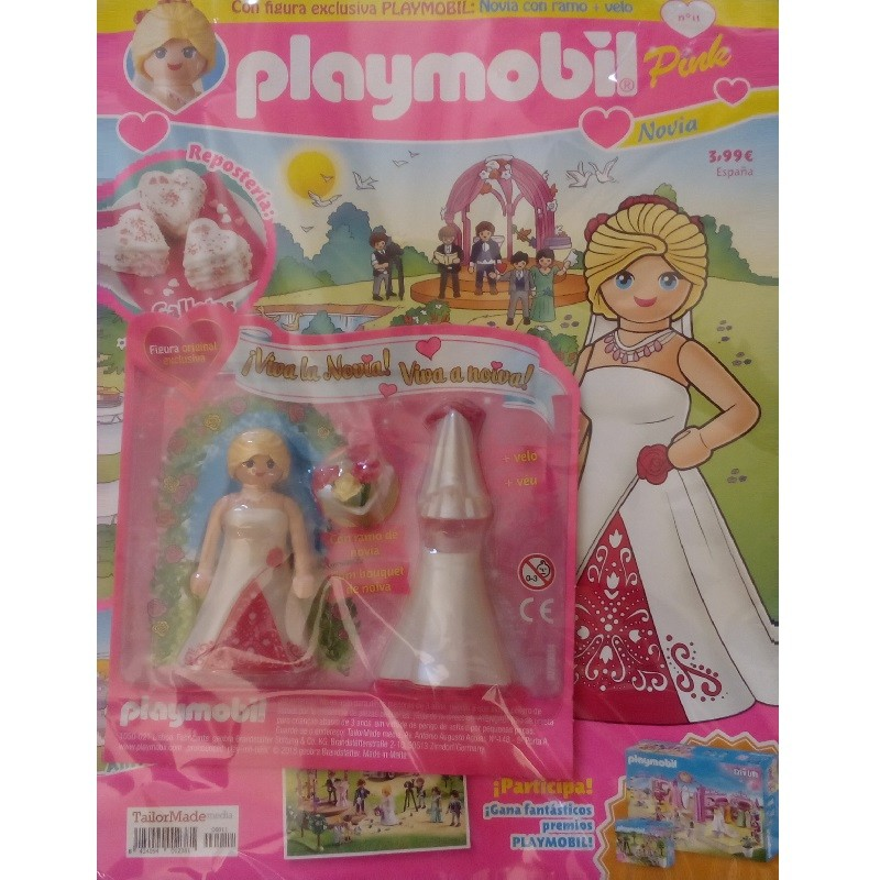 playmobil n 11 chica - Revista Playmobil 11 Pink chicas