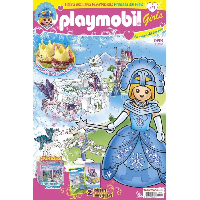 playmobil n 1 chicas - Revista Playmobil 1 semestral chicas